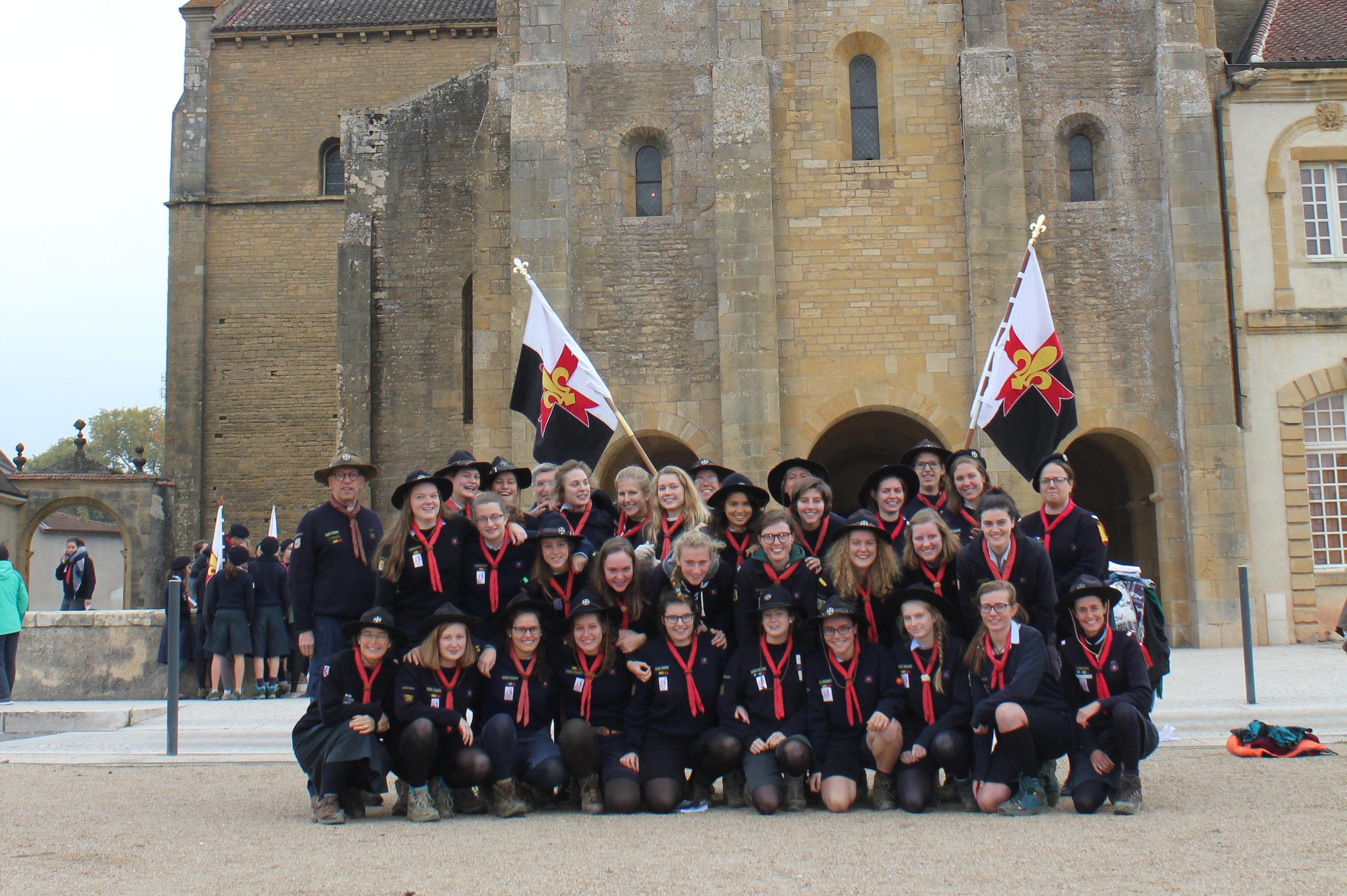 Pèlerinage des Guides-aînées - Paray 2016