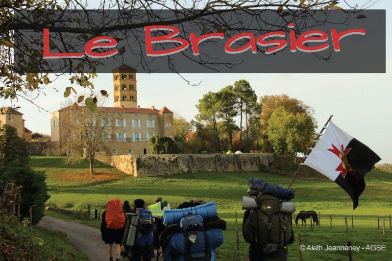 Magazine le Brasier - rassemblement des guides-aînées